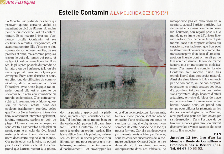 Exposition Estelle Contamin.