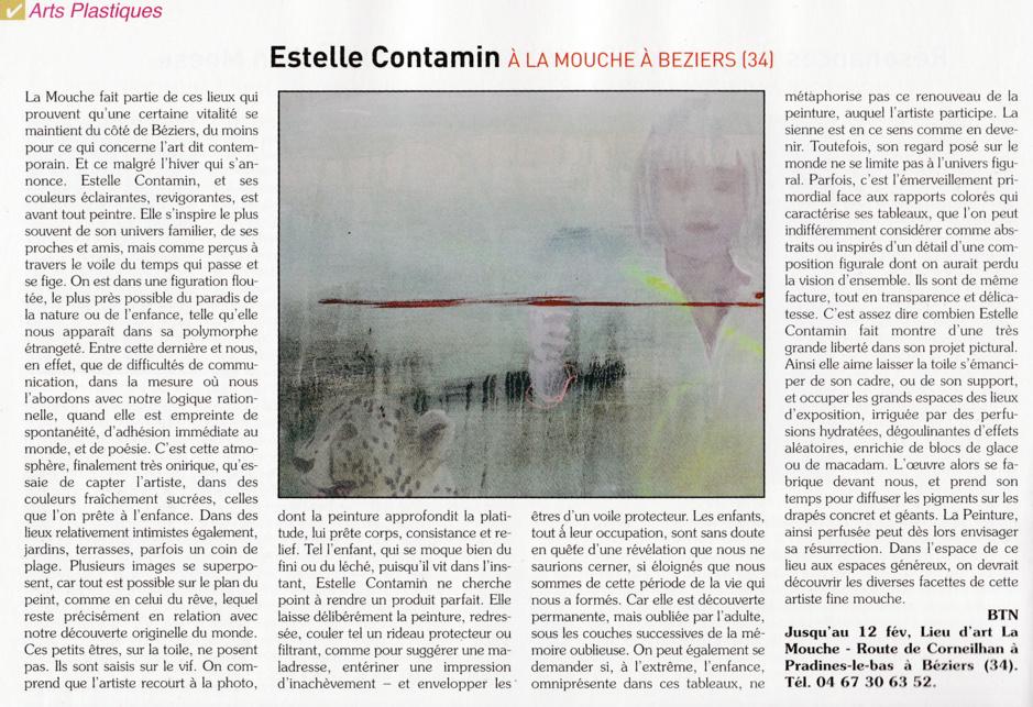 Exposition Estelle Contamin.