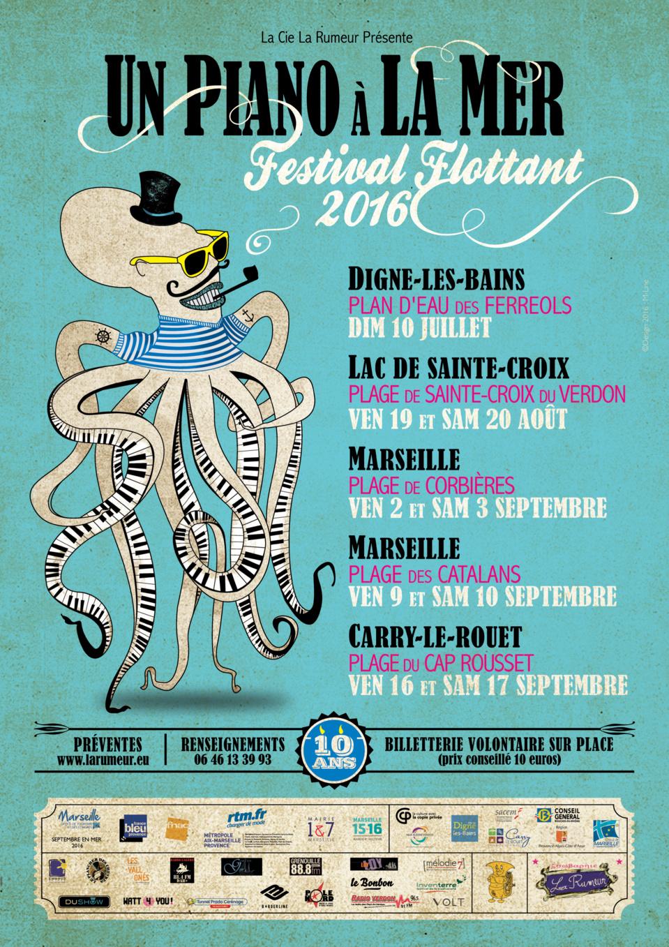 Festival Flottant, Un Piano à la Mer